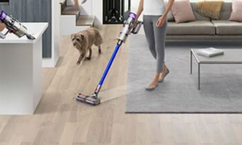 dyson vacuum living room
