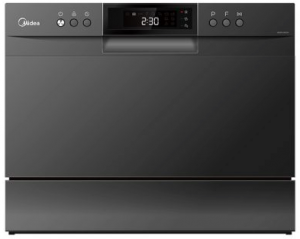 Midea Countertop MDWB1BL Dishwasher Black