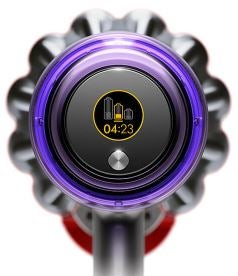 runtime dyson lcd screen