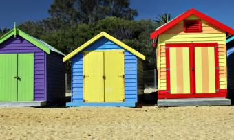 Brighton Beach Houses, Melbourne