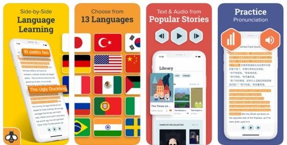 Beelinguapp language app review