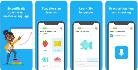 Duolingo language app review
