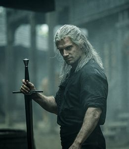 Still of Geralt from The Witcher on Netflix