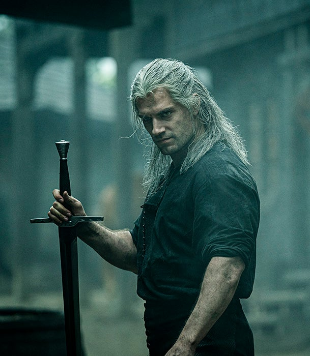 Geralt from Netflix series The Witcher
