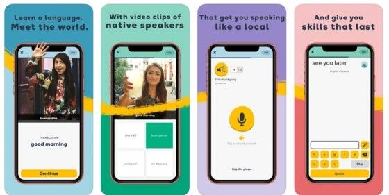 Memrise language app review
