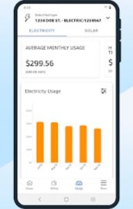 Simply Energy app on Android
