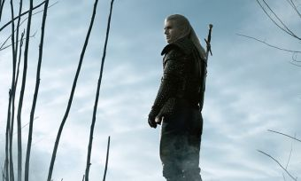 Promo shot of Geralt from The Witcher series on Netflix