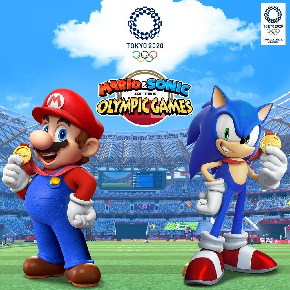 Mario and Sonic Olympics poster
