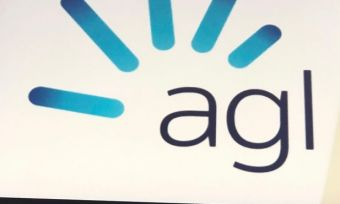 AGL logo on tablet