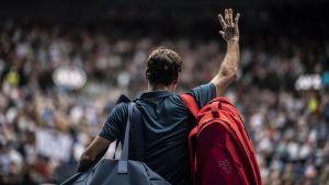 Aus Open Roger Federer