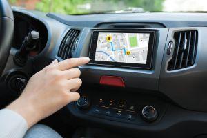 Maps in car
