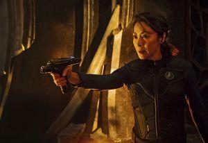 Michelle Yeoh as Captain Philippa Georgiou. STAR TREK: DISCOVERY