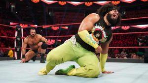 WWE world wrestling match