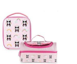 aldi lunch box pink