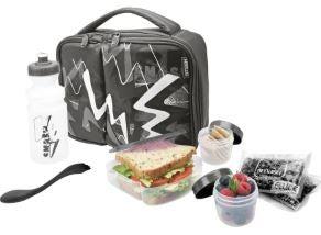 big w lunch box set