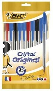 coles bic assorted pens