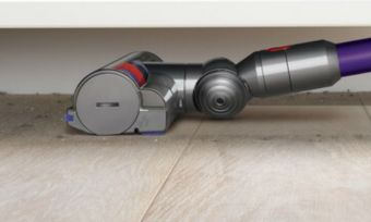 dyson v7 under table