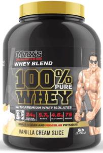 Max's protein powder