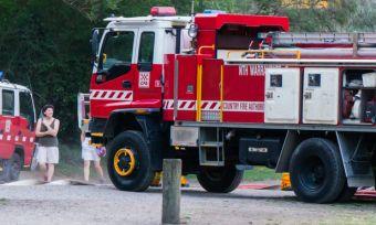 Fire truck in Australia