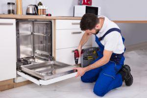 Installing dishwasher