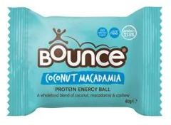 Bounce protein snack