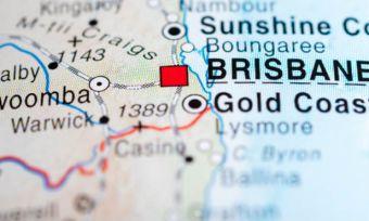 Brisbane roadtrip map