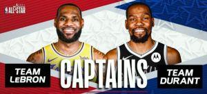 NBA All Star Captains