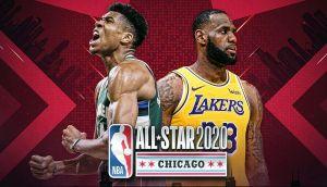 NBA Giannis LeBron