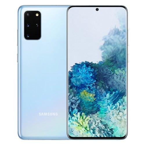 Samsung Galaxy S20 in blue