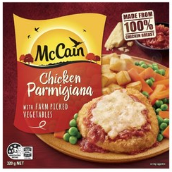 McCain frozen meal
