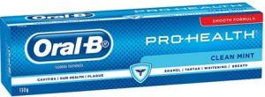 oral b pro health toothpaste