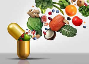 Vitamins supplements as a capsule