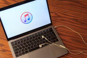 apple music on laptop