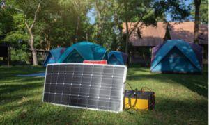 campsite solar