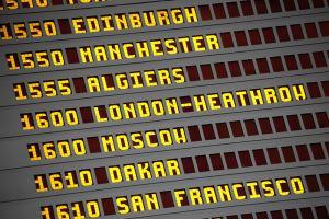 International Flight Board
