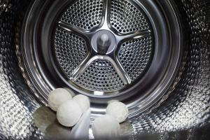 Dryer Balls in Dryer