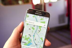 Ordering Uber app