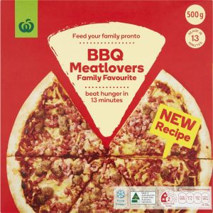 woolworths frozen pizza review
