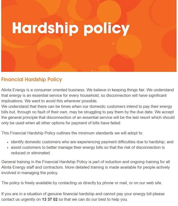Alinta-energy-hardship-policy