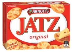 Best crackers rating review Jatz Arnott's