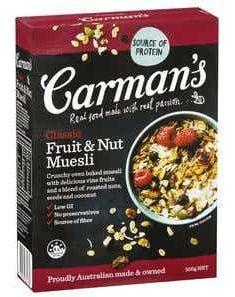 Carmans muesli review