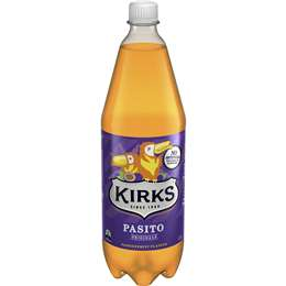Kirks Pasito best soft drink review rating compared