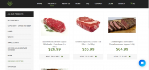 You can buy meat online at Organic Meat Online