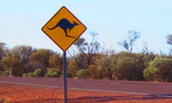 Outback QLD Sign