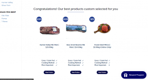 You can buy meat online with the Super Butcher