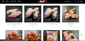 You can buy meat online with The Meat Man