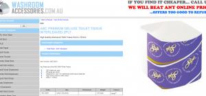 Buy toilet paper on Washroom accessories