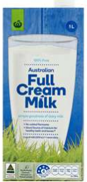 Best long life milk UHT rating review Woolworths