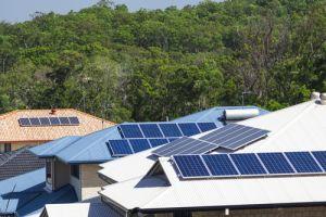 australian rooftops solar panels