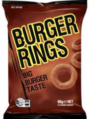 best chips crisps rating review Burger Rings